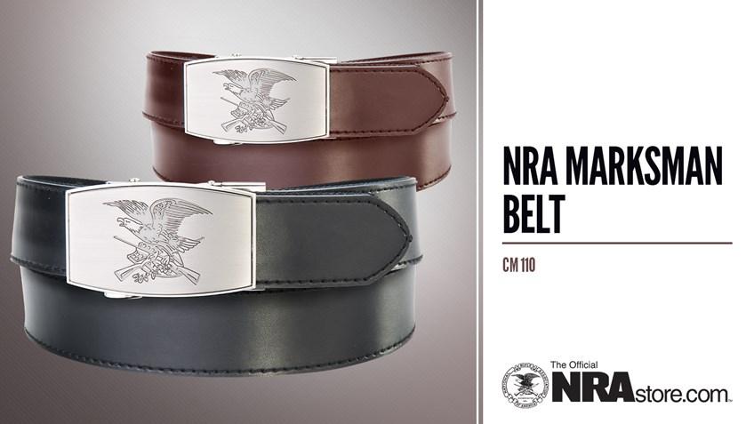 NRA Store Product Highlight: Marksman Belt