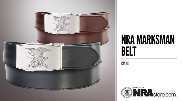 NRA Store Product Highlight: Marksman Belt