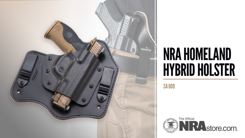 NRA Store Product Highlight: Homeland Hybrid Holster
