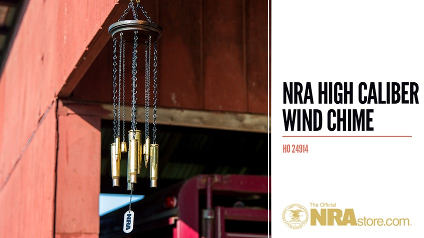 NRAstore Product Highlight: High Caliber Wind Chime