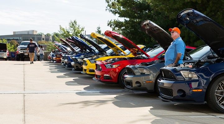 Cool cars, terrific trucks draw great crowd at NRA Car & Truck Show
