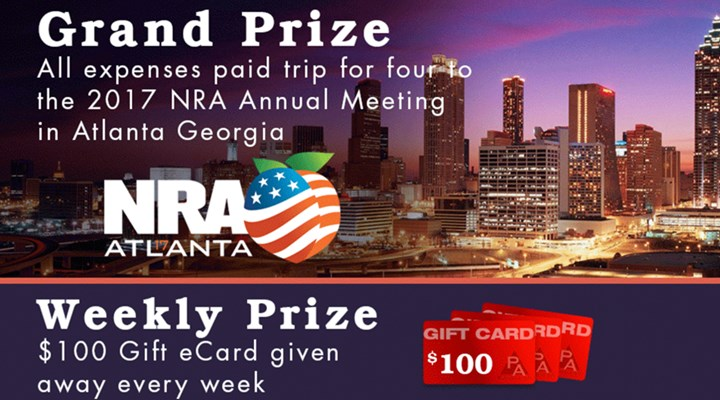 Win a Trip to the 2017 NRA Annual Meeting!