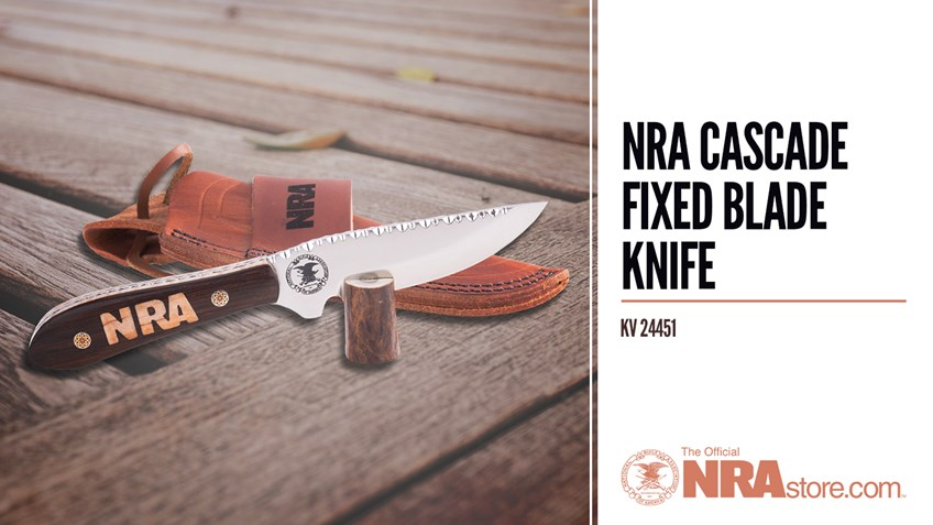 NRAstore Product Highlight: Cascade Fixed Blade Knife