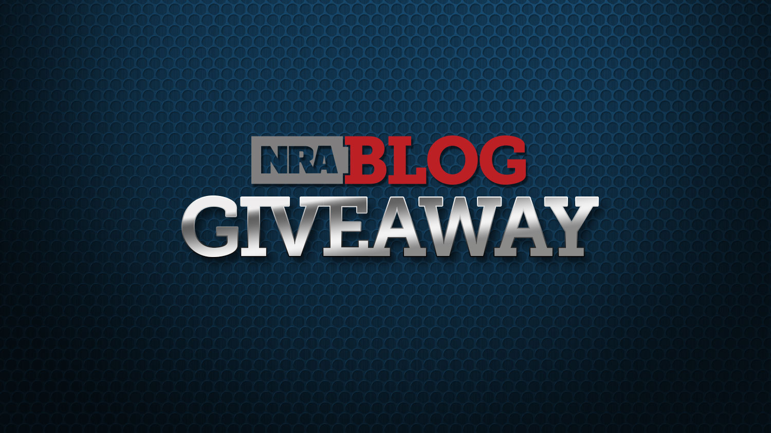Enter the October NRA Blog Giveaway!