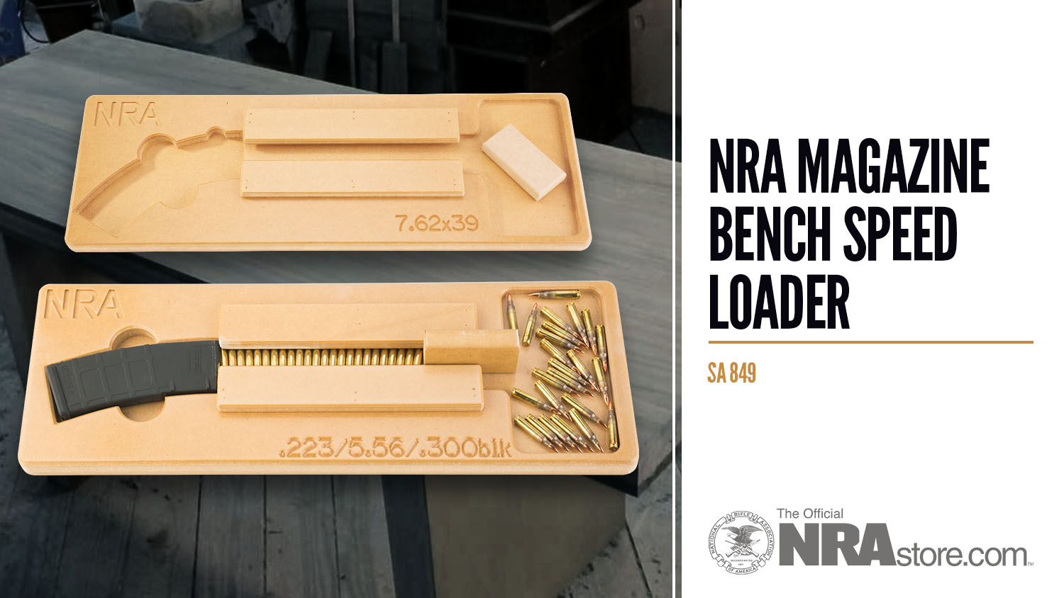NRAstore Product Highlight: Magazine Bench Speed Loader