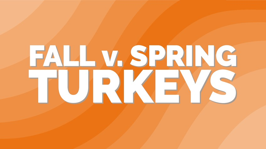 Fall vs. Spring Turkey