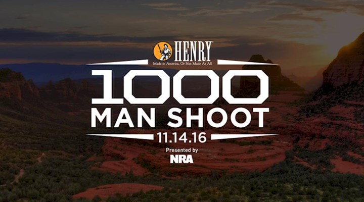On the Brink of History at the Henry 1000 Man Shoot Presented by NRA