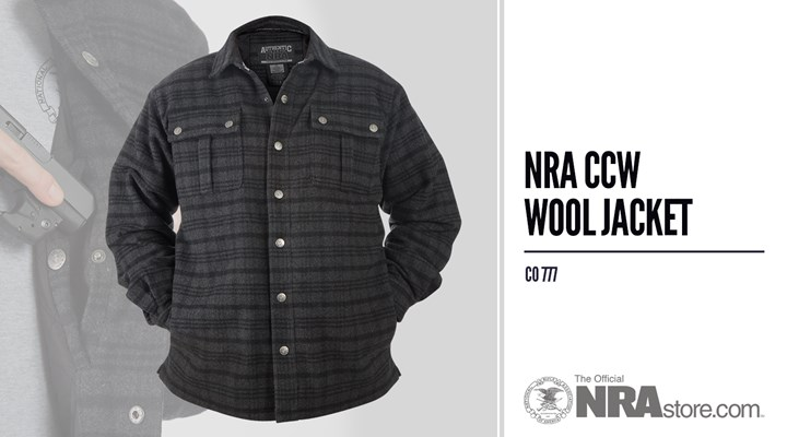 NRAstore Product Highlight: CCW Wool Jacket