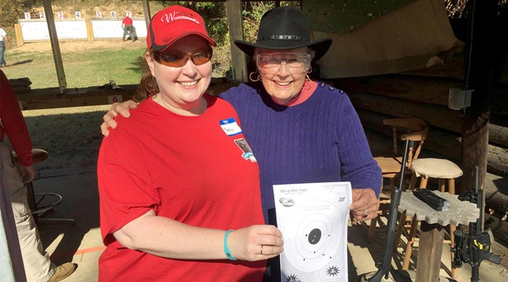 NRA's Women On Target Program Helps Introduce Local Women to Recreational Shooting