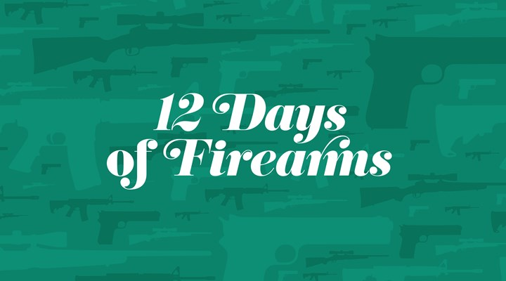 Day 8: J. Cooper Left-handed Pennsylvania Kentucky Flintlock Rifle