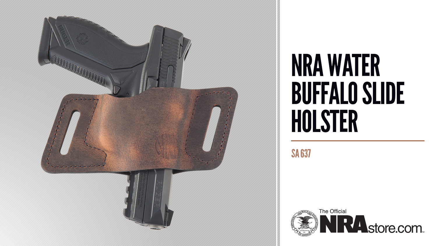 NRAstore Product Highlight: Water Buffalo Slide Holster