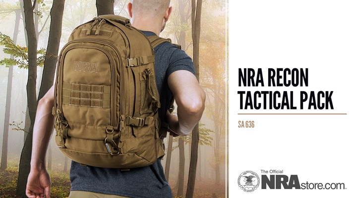 NRAstore Product Highlight: NRA Recon Tactical Pack