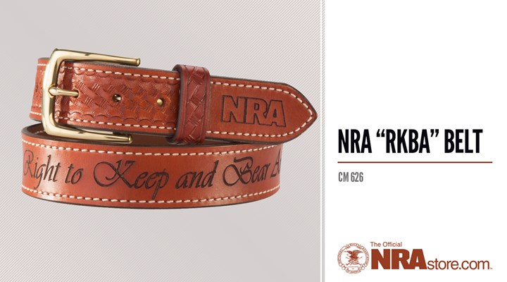 "NRAstore Product Highlight: NRA ""RKBA"" Belt"