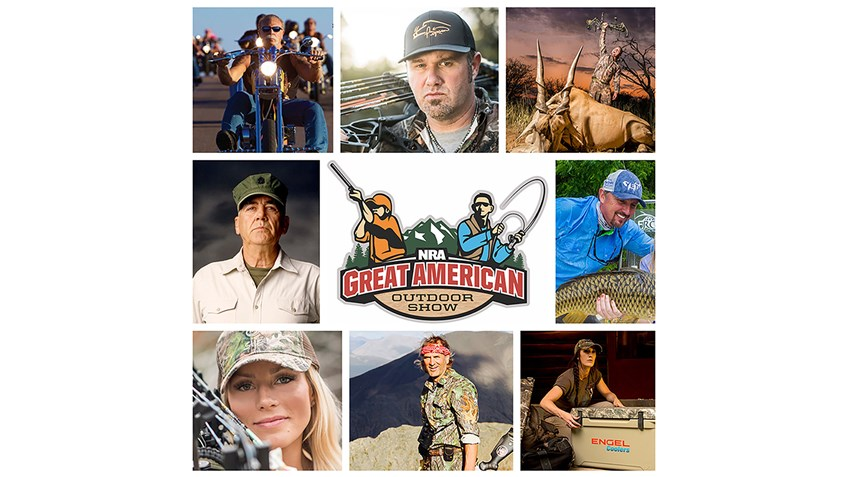 Can't Miss Celebrities at the 2017 Great American Outdoor Show