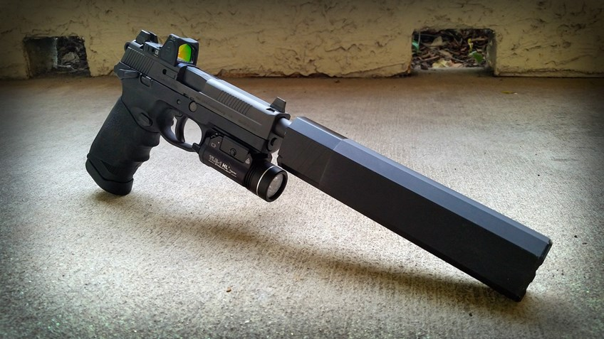 Six Suppressor-Ready Pistols