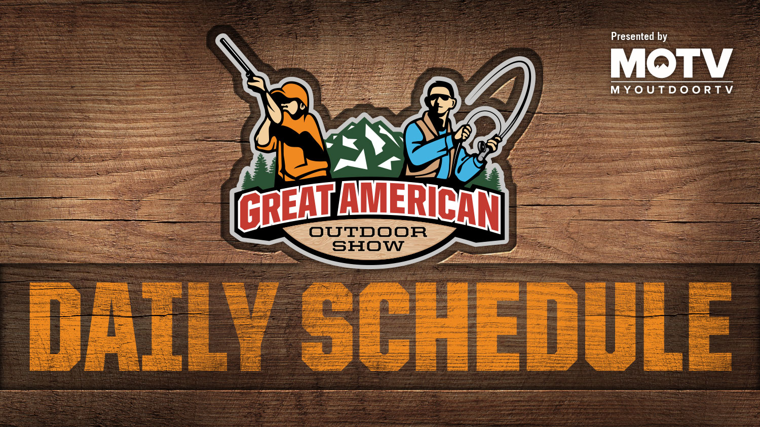 Great American Outdoor Show: Day 4 Schedule
