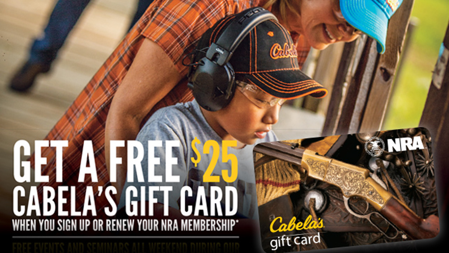 Cabela's Hosts NRA Weekend February 11-12