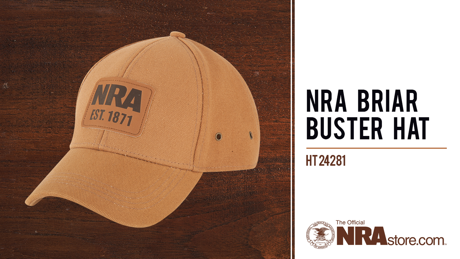 NRAstore Product Highlight: NRA Briar Buster Hat