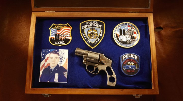 Guns of the 'Thin Blue Line' at the NRA National Firearms Museum