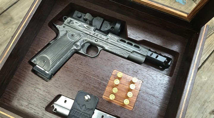 Jesse James Donates First of Rare Damascus 1911s to NRA Museums