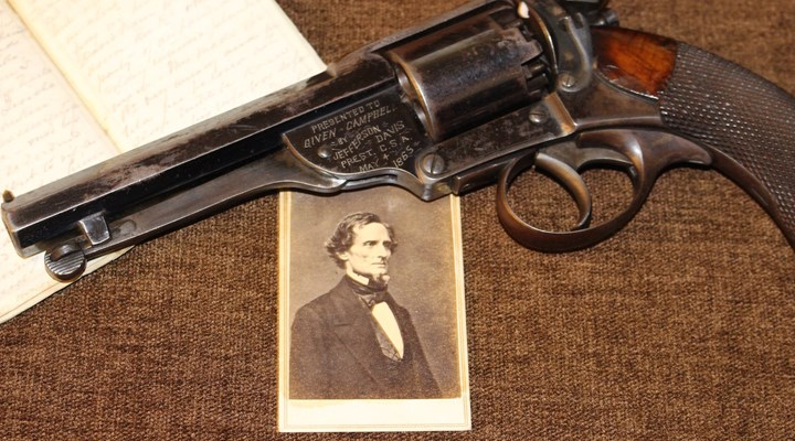 History in a Handgun: Jefferson Davis and His Kerr Revolver
