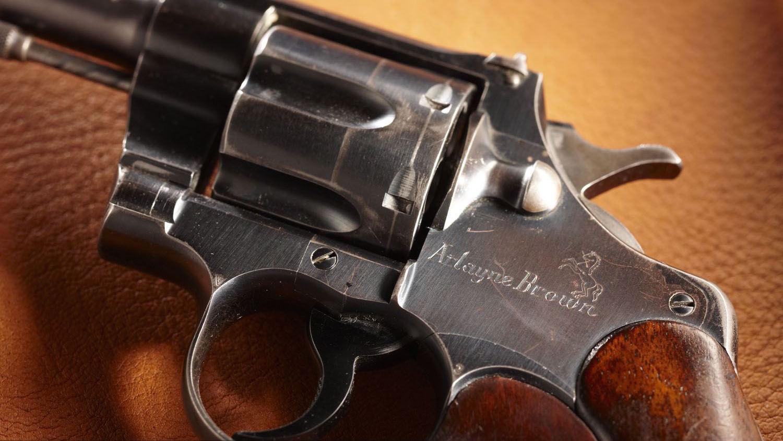 History in a Handgun: Arlayne Brown's Colt Revolver