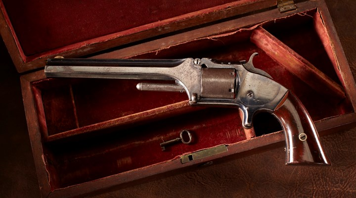 History in a Handgun: William Tecumseh Sherman's Smith & Wesson No. 2