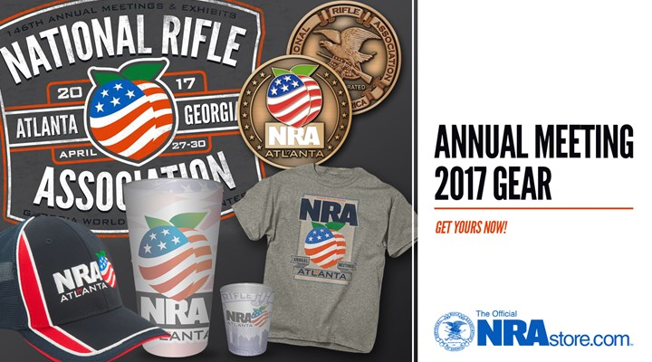 Get Your 2017 NRA Annual Meeting Gear In Atlanta
