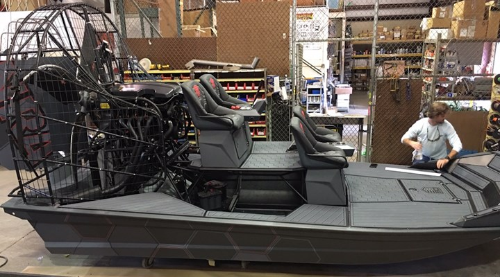 One-of-a-kind Diamondback NRA Airboat Up For Auction on GunBroker