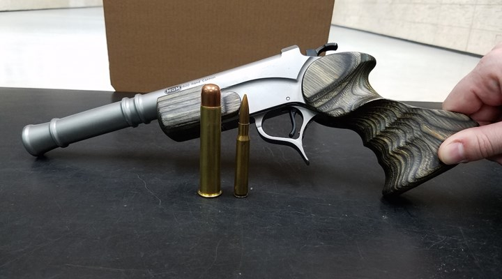 Shooting a Modern-Day Hand Cannon