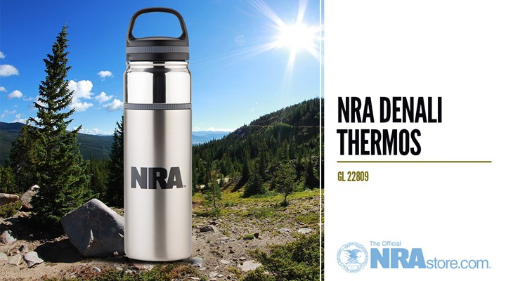 NRAstore Product Highlight: NRA Denali Thermos