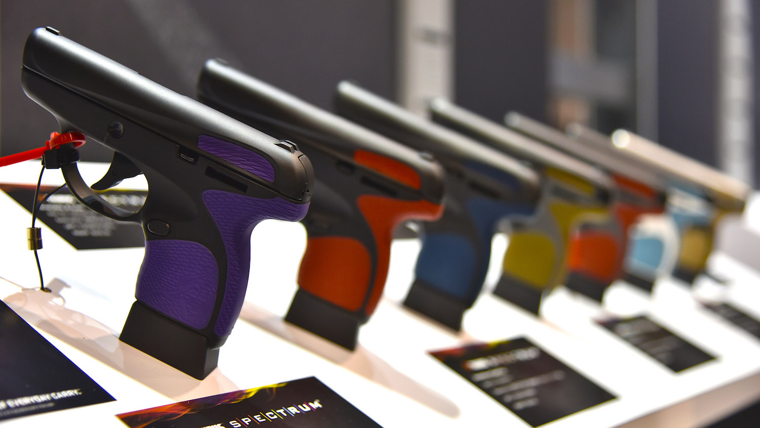 Taurus' New Spectrum Pistol Is Much More Than Shiny New Colors