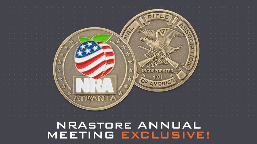 Get Your NRA Annual Meeting Commemorative Coin