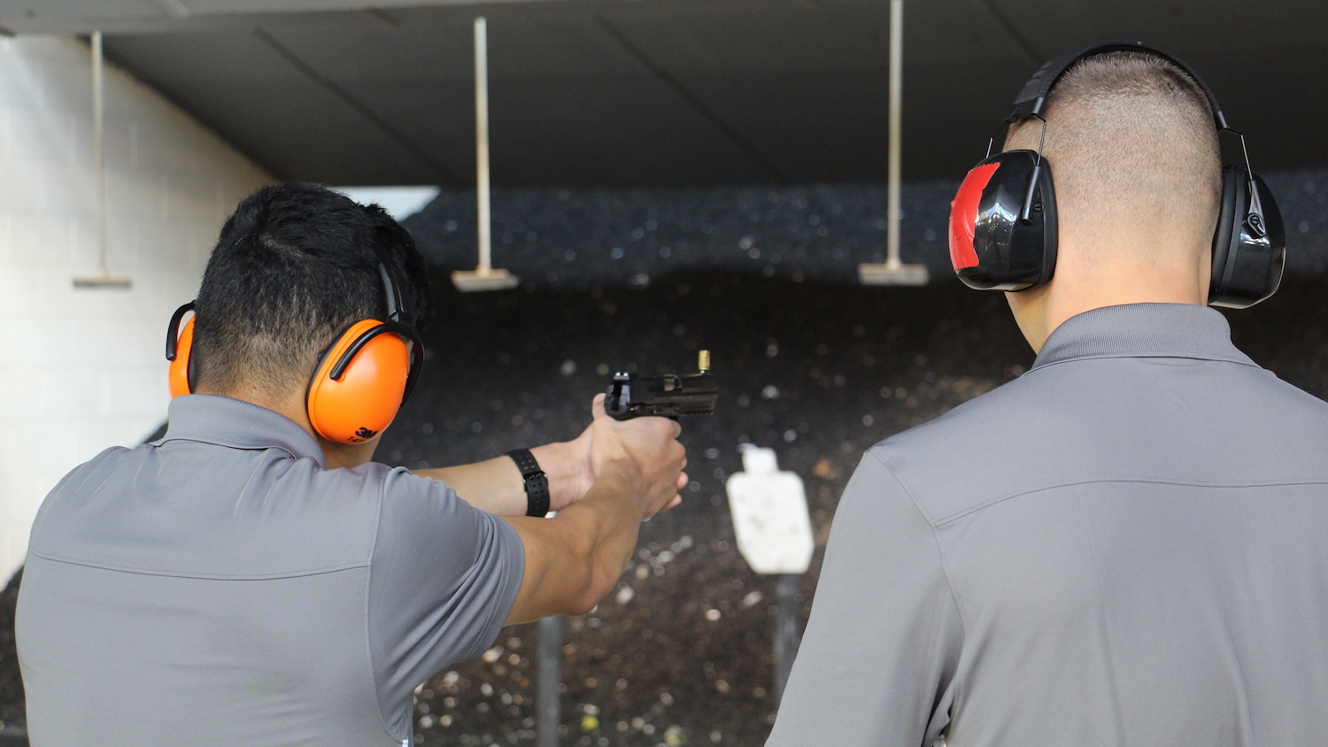 NRA Instructors Help Hone VMI Combat Shooting Team's Competitive Edge