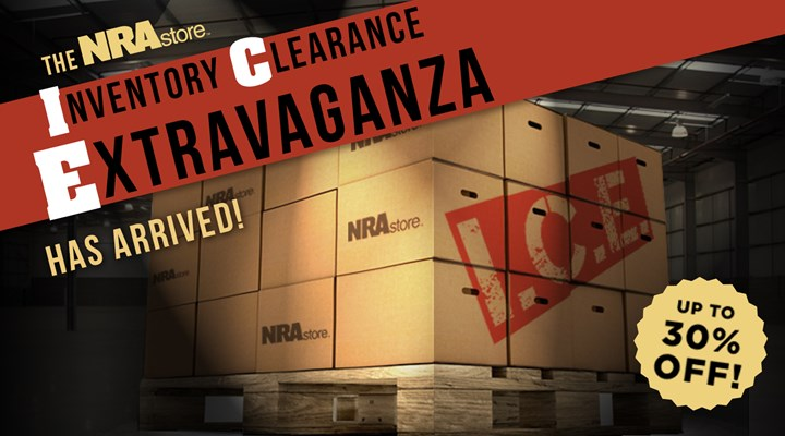 NRAstore Inventory Clearance Extravaganza Sale