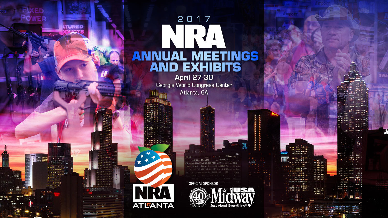 NRA Annual Meeting Events: Thursday, April 27th