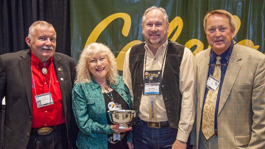 NRA Gun Collector Awards Presented At NRA Annual Meetings