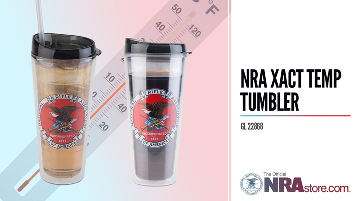NRAstore Product Highlight: NRA Xact Temp Tumbler