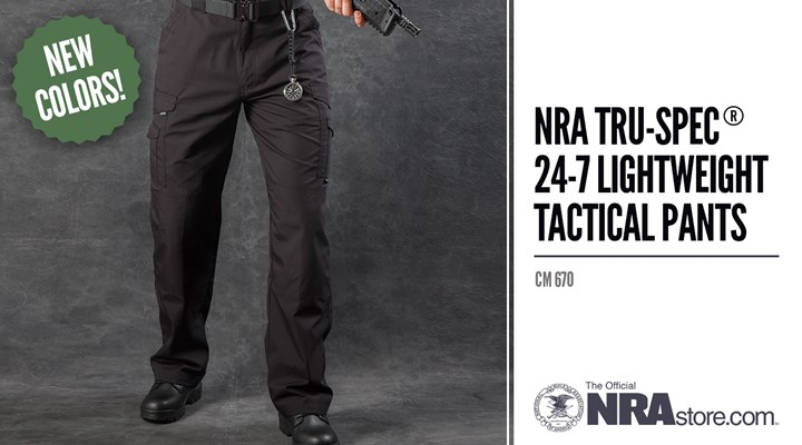 NRAstore Product Highlight: TRU-SPEC® 24-7 Lightweight Tactical Pants