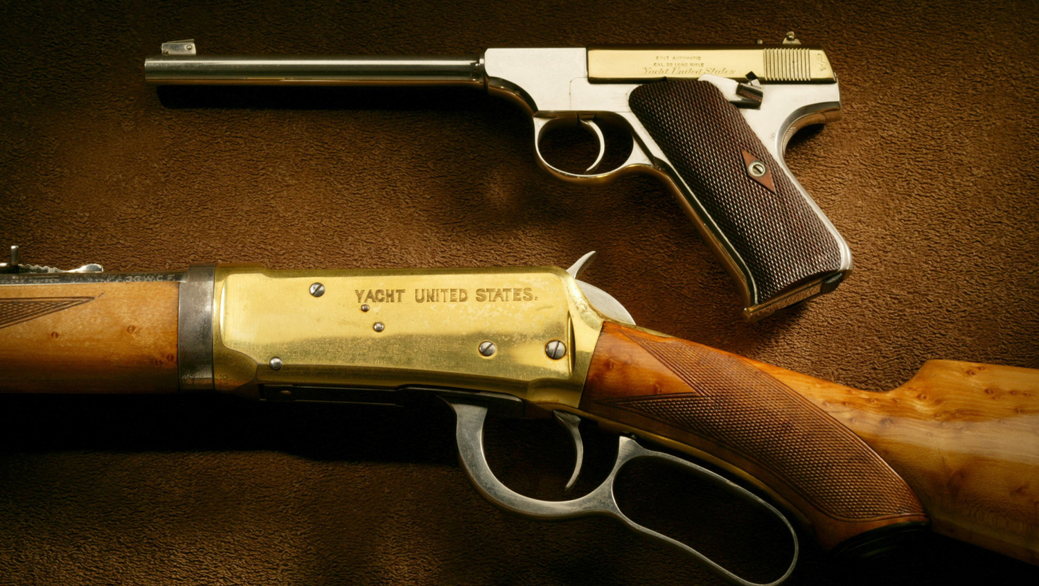 A Sea-Going Arsenal:  Guns of the Yacht United States