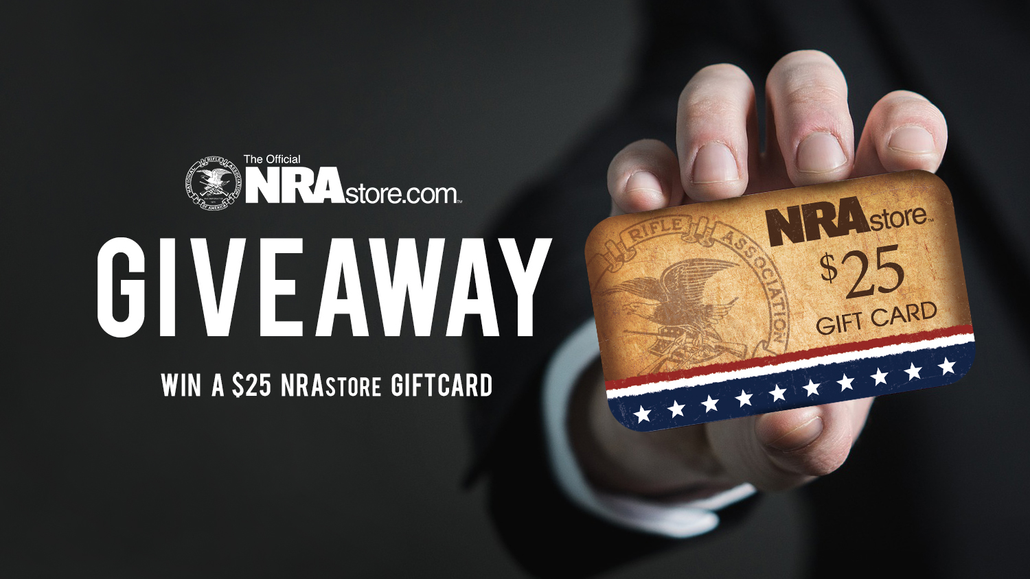 Enter To Win A FREE $25 Gift Card From The NRAstore