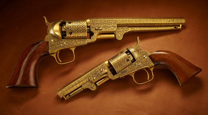 Colts Of Exotic Craftsmanship... And Mysterious Ownership