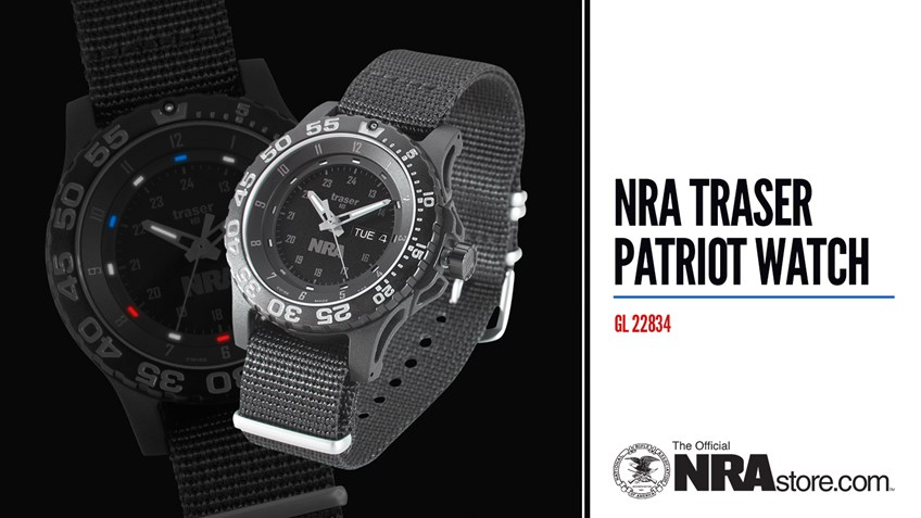 NRAstore Product Highlight: Traser Patriot Watch