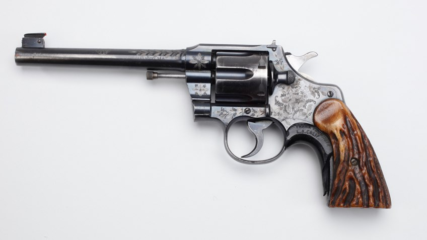 History in a Handgun: Ad Toepperwein's Colt Target Revolver