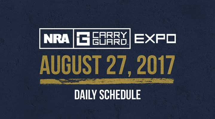 NRA Carry Guard Expo Events: Sunday, August 27th
