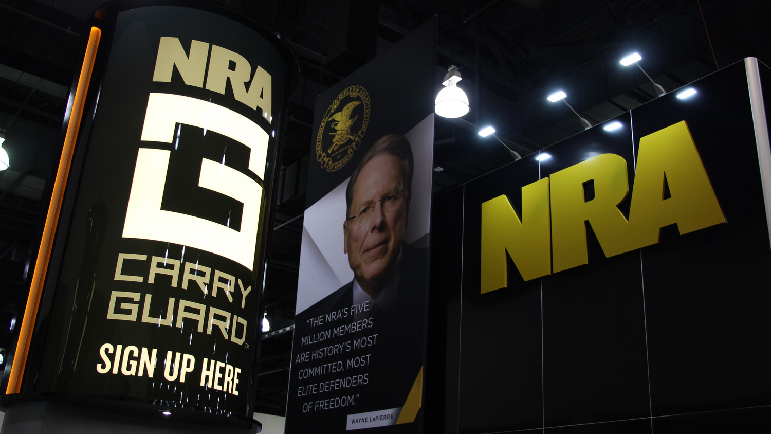 First-Ever NRA Carry Guard Expo Draws Crowd In Milwaukee