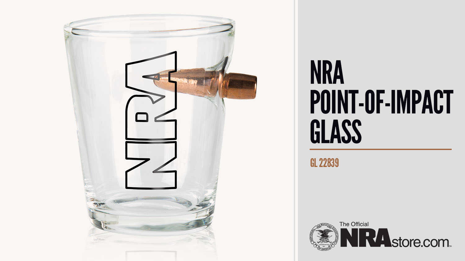 Product Highlight: NRA Point-Of-Impact Shot Glass