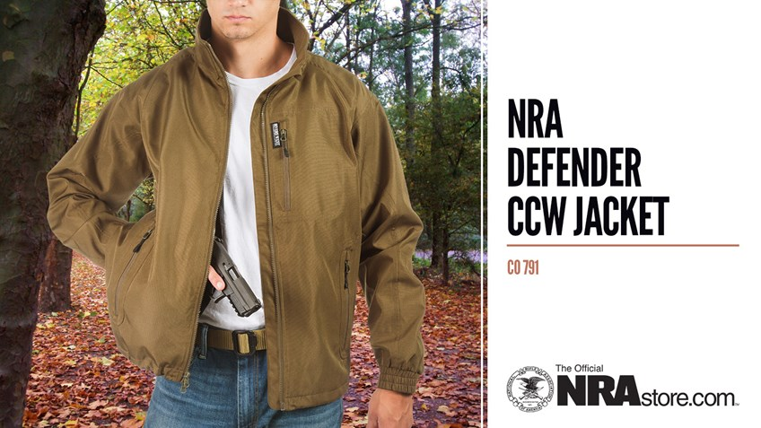 Product Highlight: NRA Defender CCW Jacket