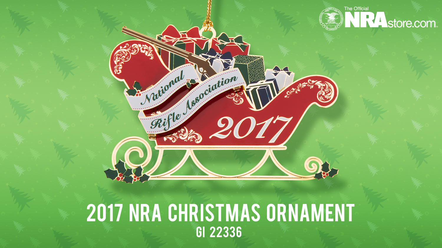NRAstore Product Highlight: 2017 NRA Christmas Ornament