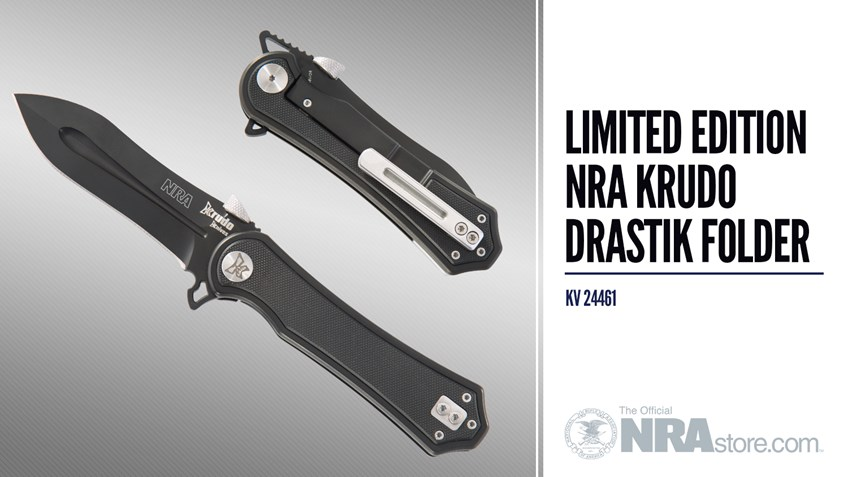 NRAstore Product Highlight: NRA Krudo Drastik Folder